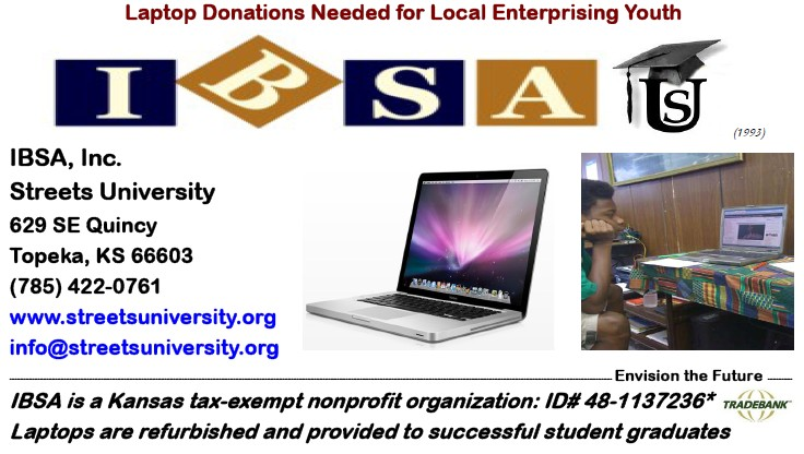 Laptops Donations Needed for Enterprising Youth