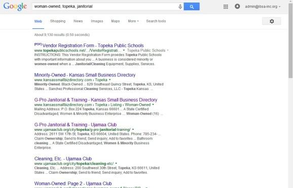 KS Small Business Directory Screenshot