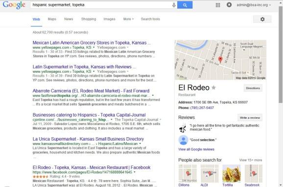 KS SmallBiz Directory Screenshot